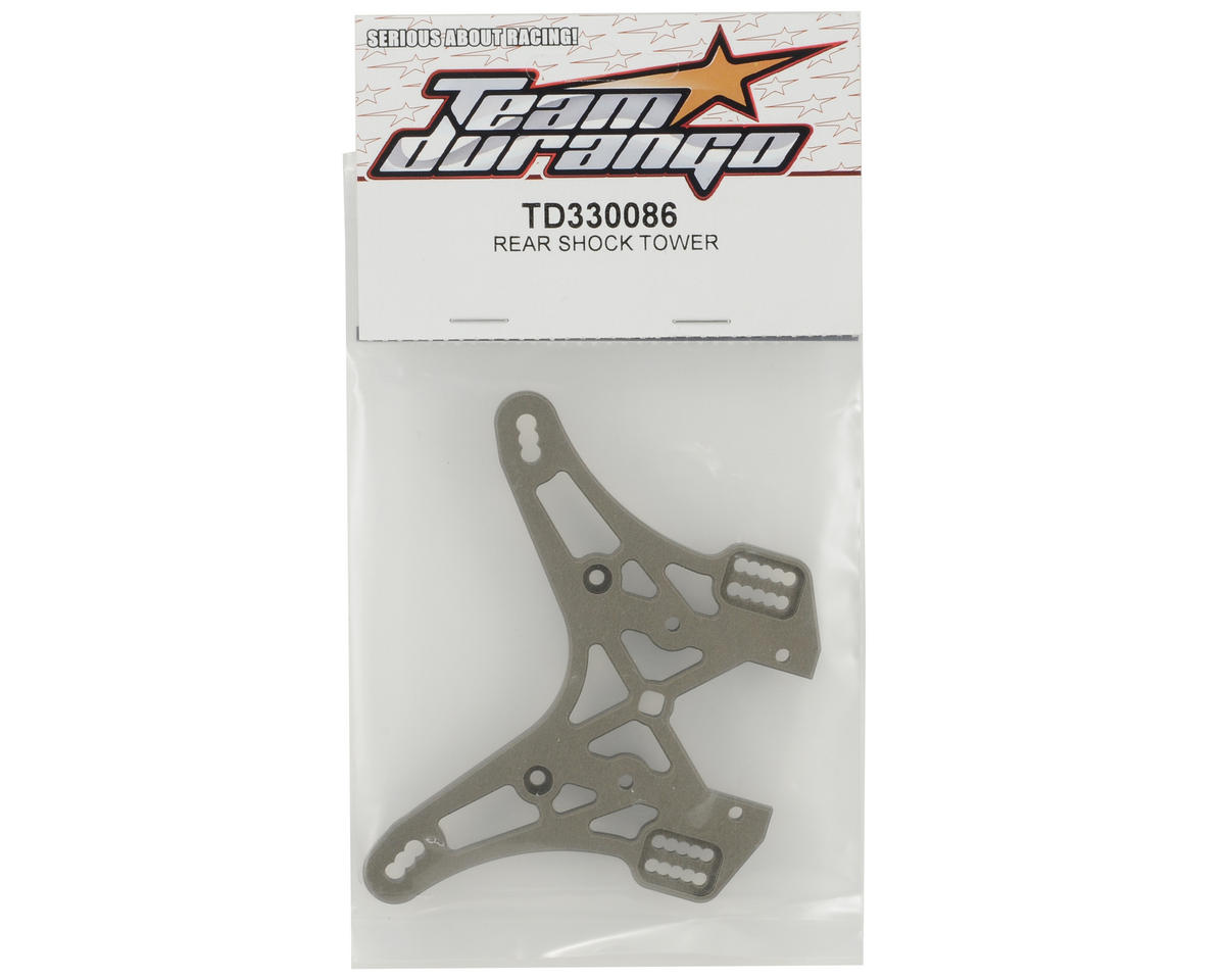 Team Durango Rear Shock Tower