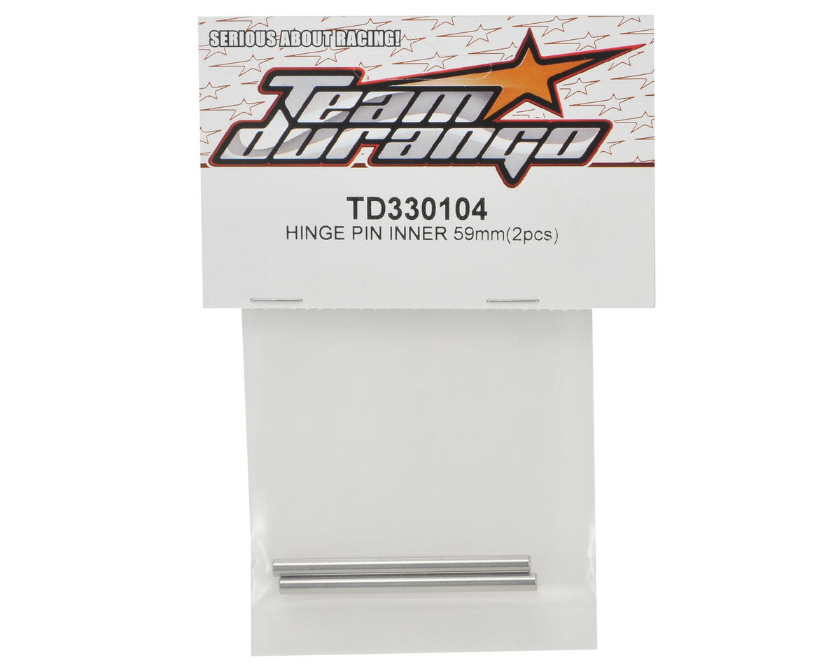 Team Durango 59mm Inner Hinge Pin Set (2)