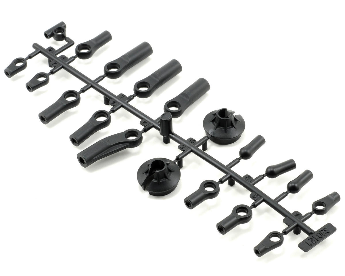 Team Durango DEX408 Plastic Ball End Set
