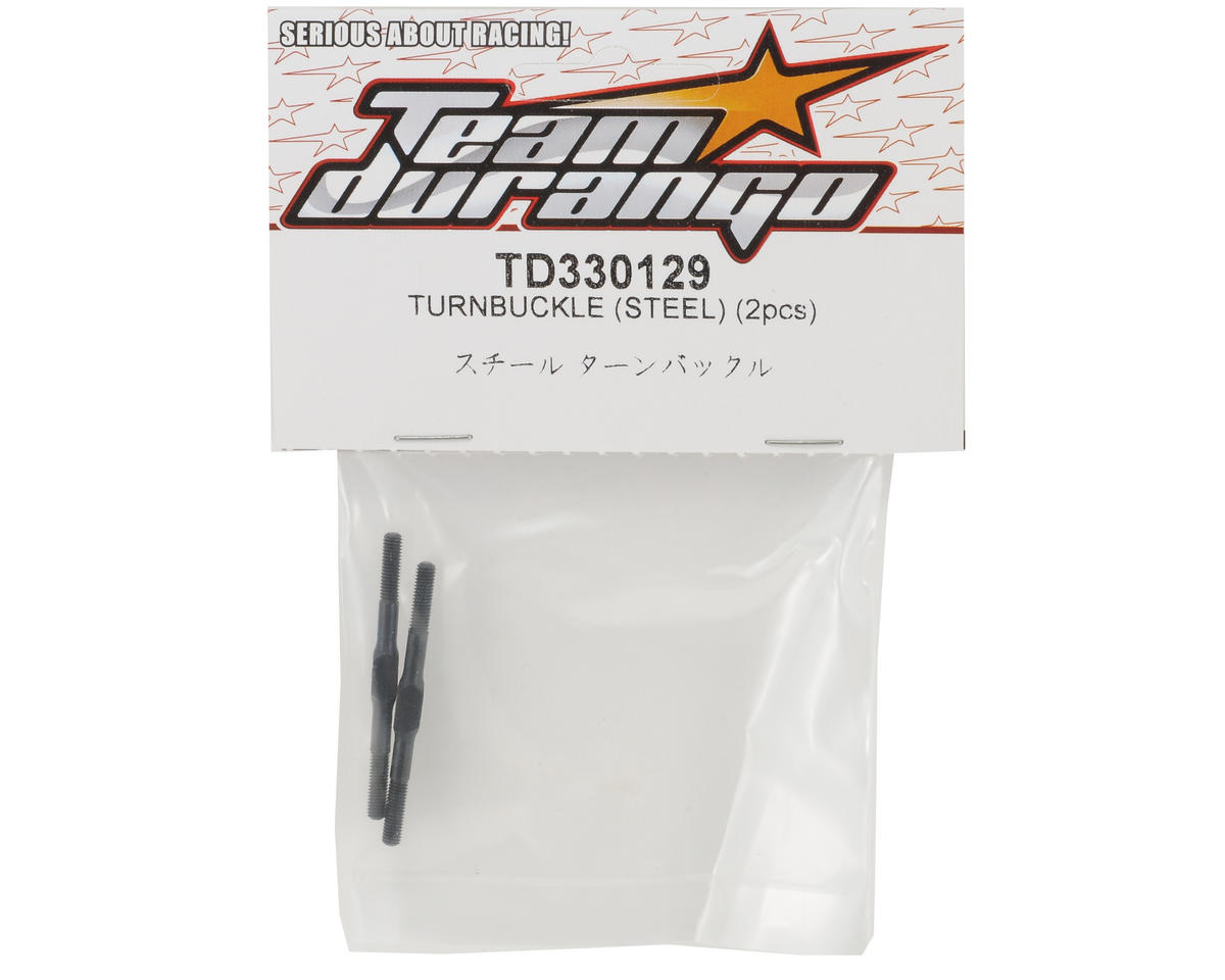 Steel Turnbuckle Set (2) by Team Durango
