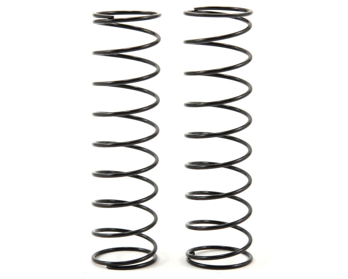 65mm Rear Big Bore Shock Spring Set (Black) (38gf/mm) (2) by Team Durango