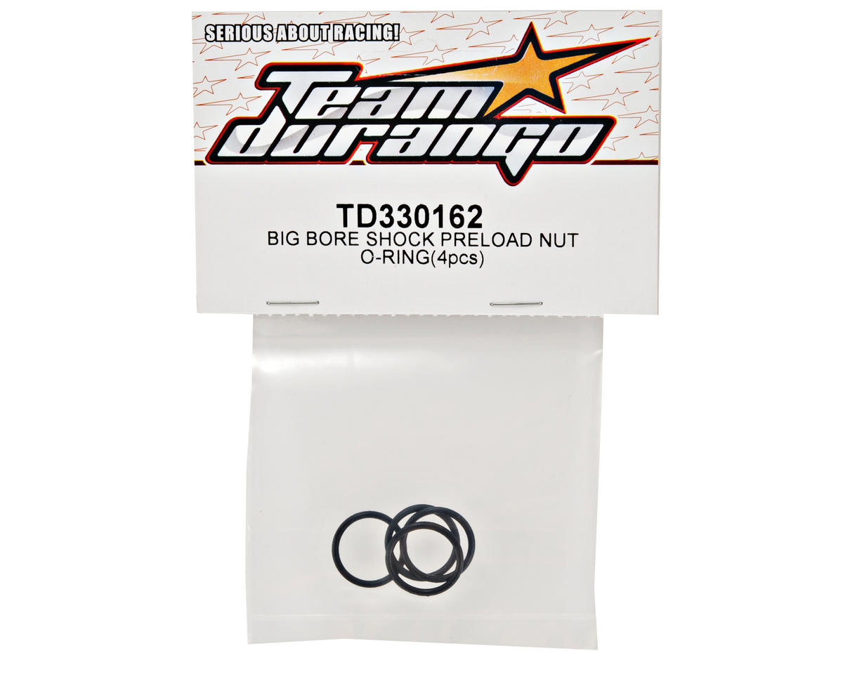 Team Durango Big Bore Shock Preload Nut O-Ring Set (4)