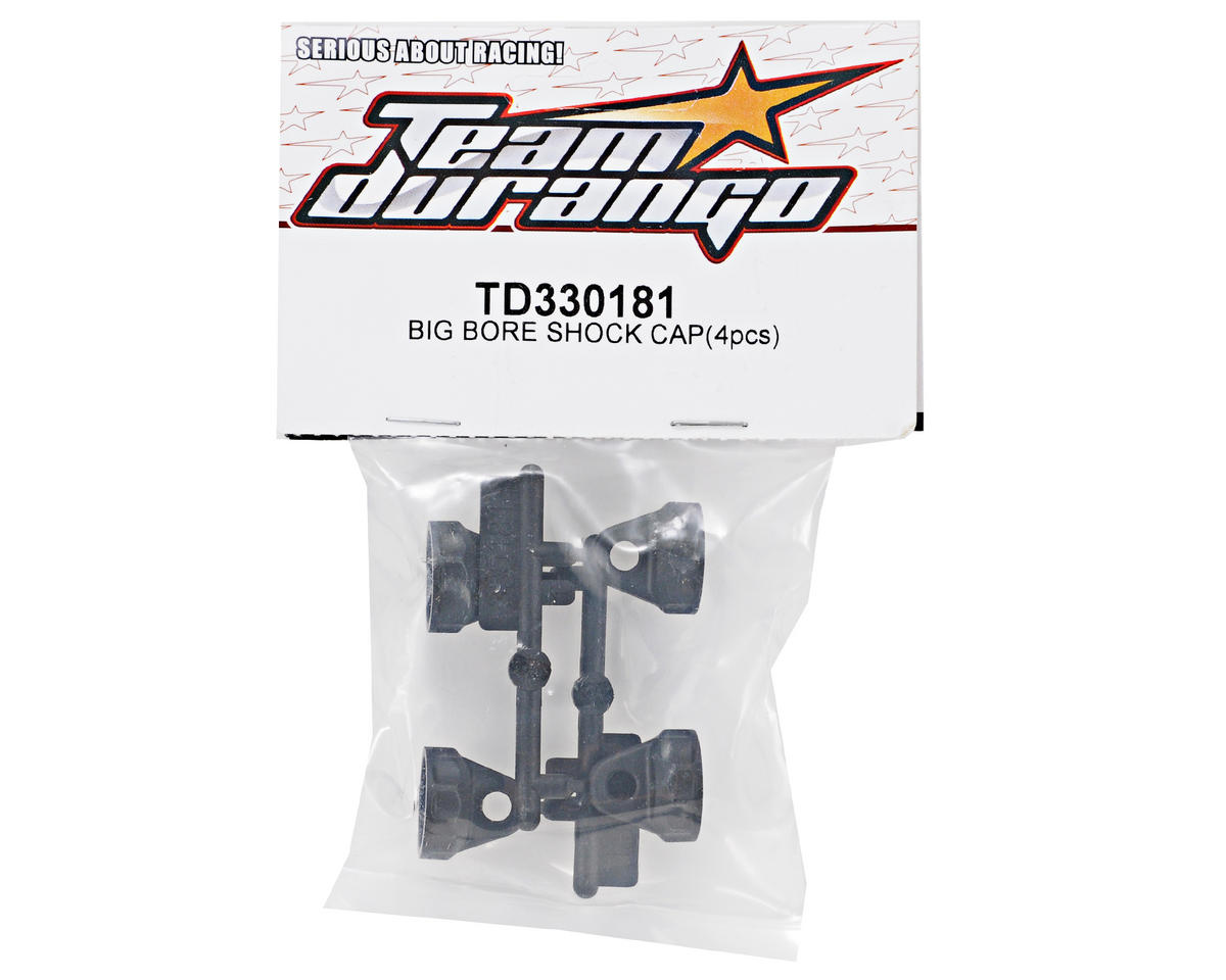 Team Durango Big Bore Shock Cap Set (4)