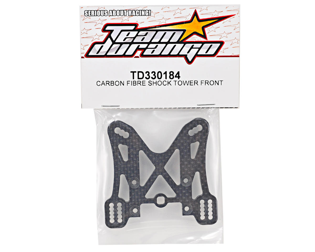 Team Durango Carbon Fiber Front Shock Tower
