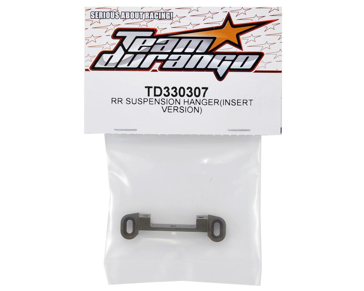 "Team Durango RR ""Insert Version"" Suspension Hanger"