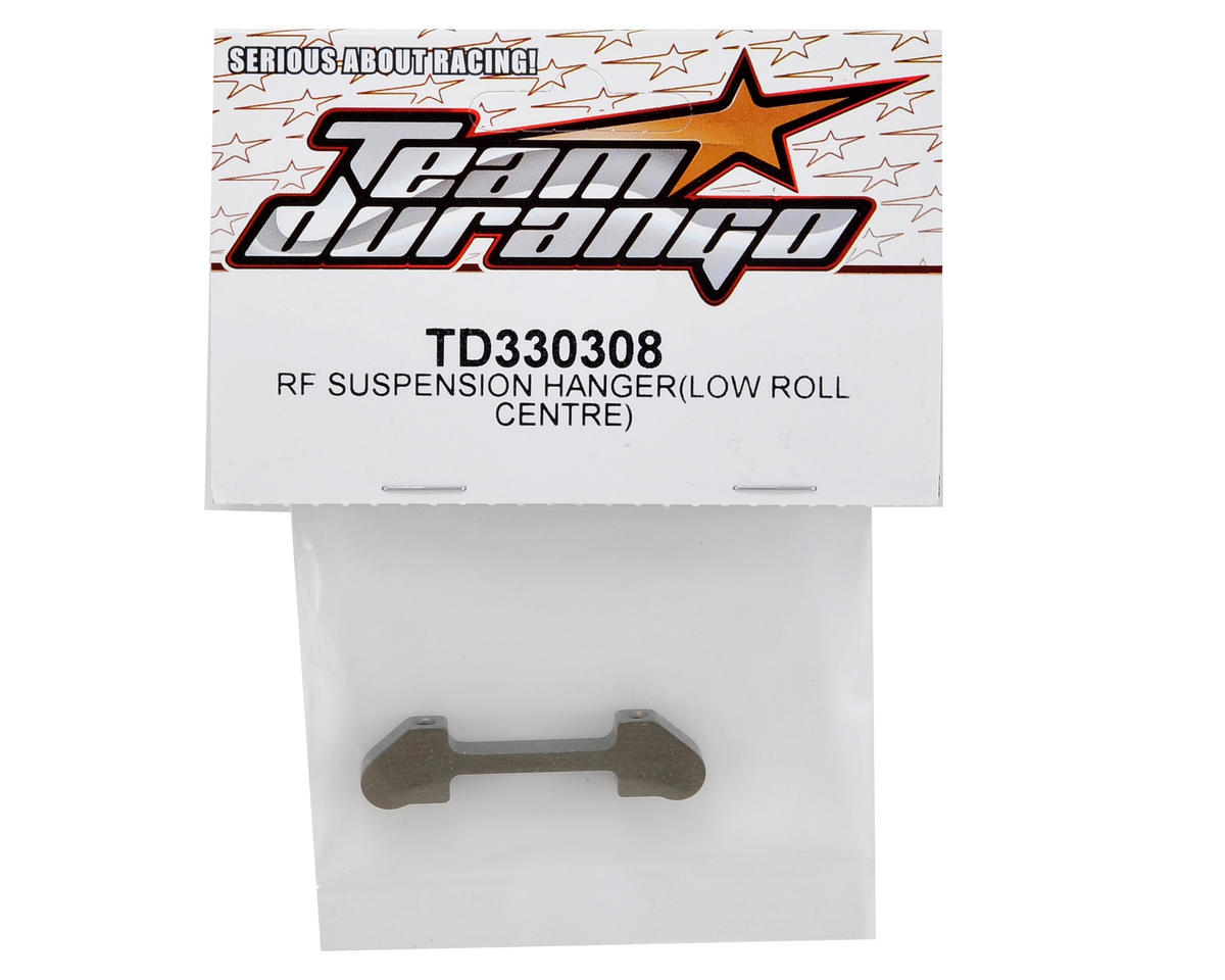 "Team Durango Aluminum Rear/Front ""Low Roll Center"" Suspension Holder"