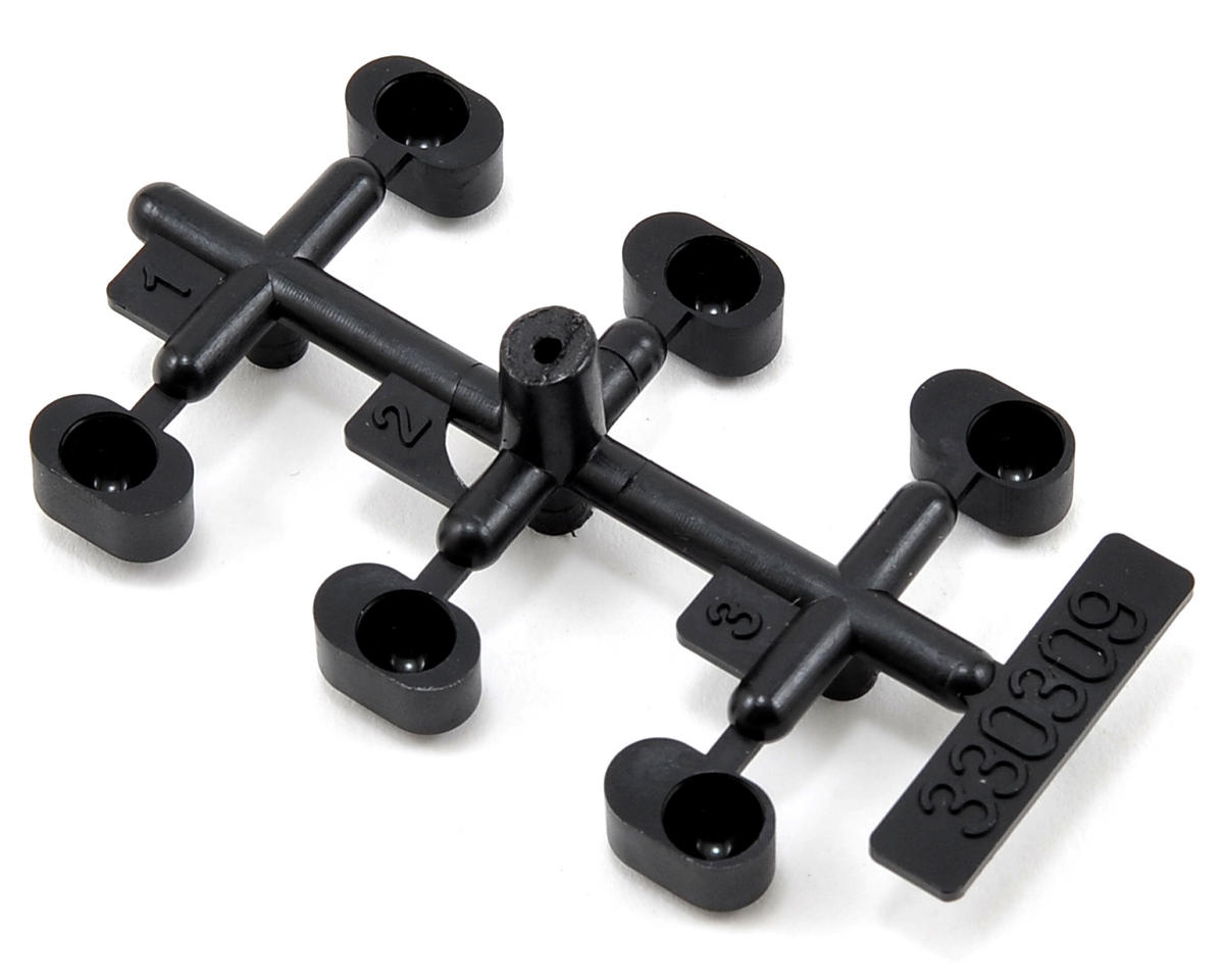 Team Durango Rear/Rear Suspension Hanger Insert Set (6)
