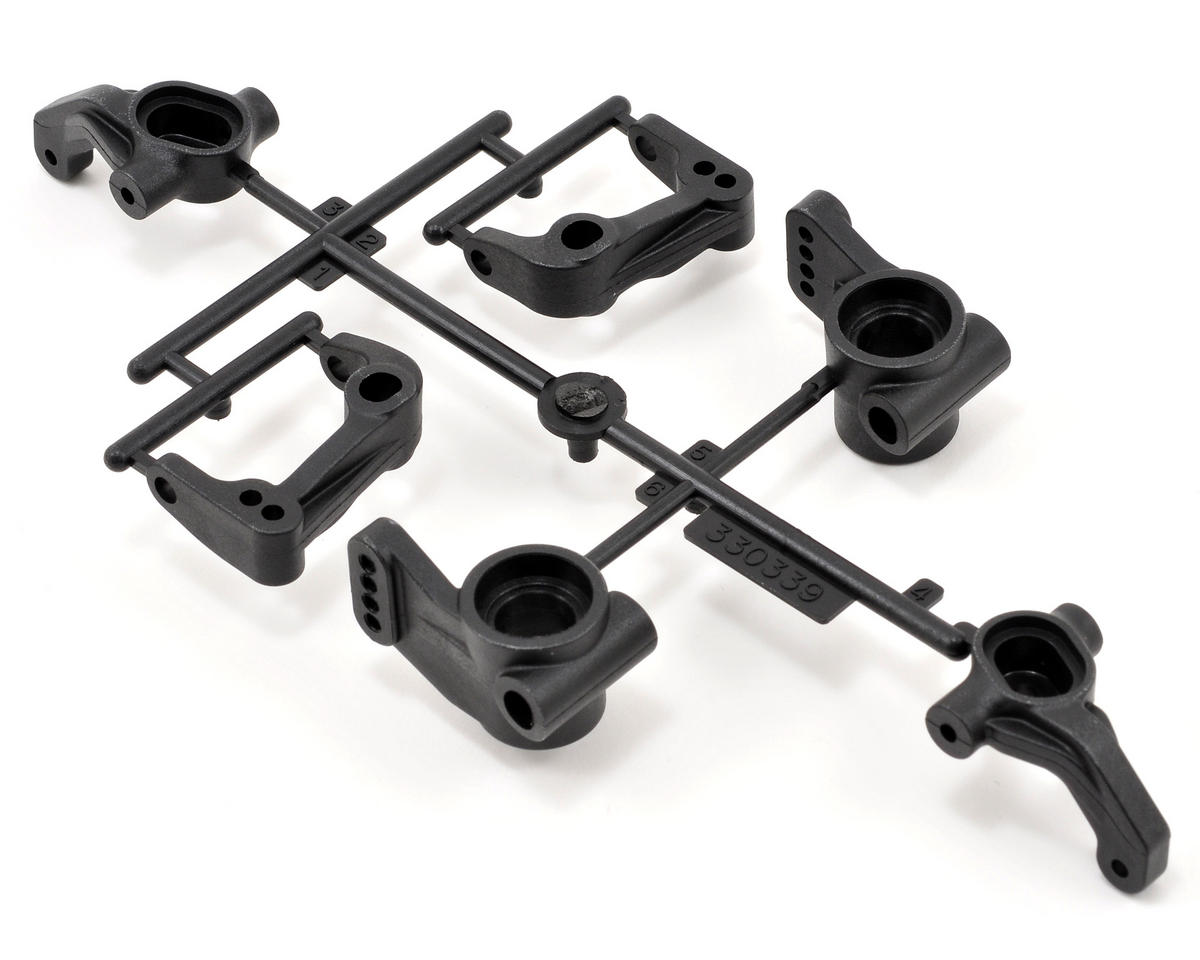 Team Durango Steering Knuckle & Hub Set