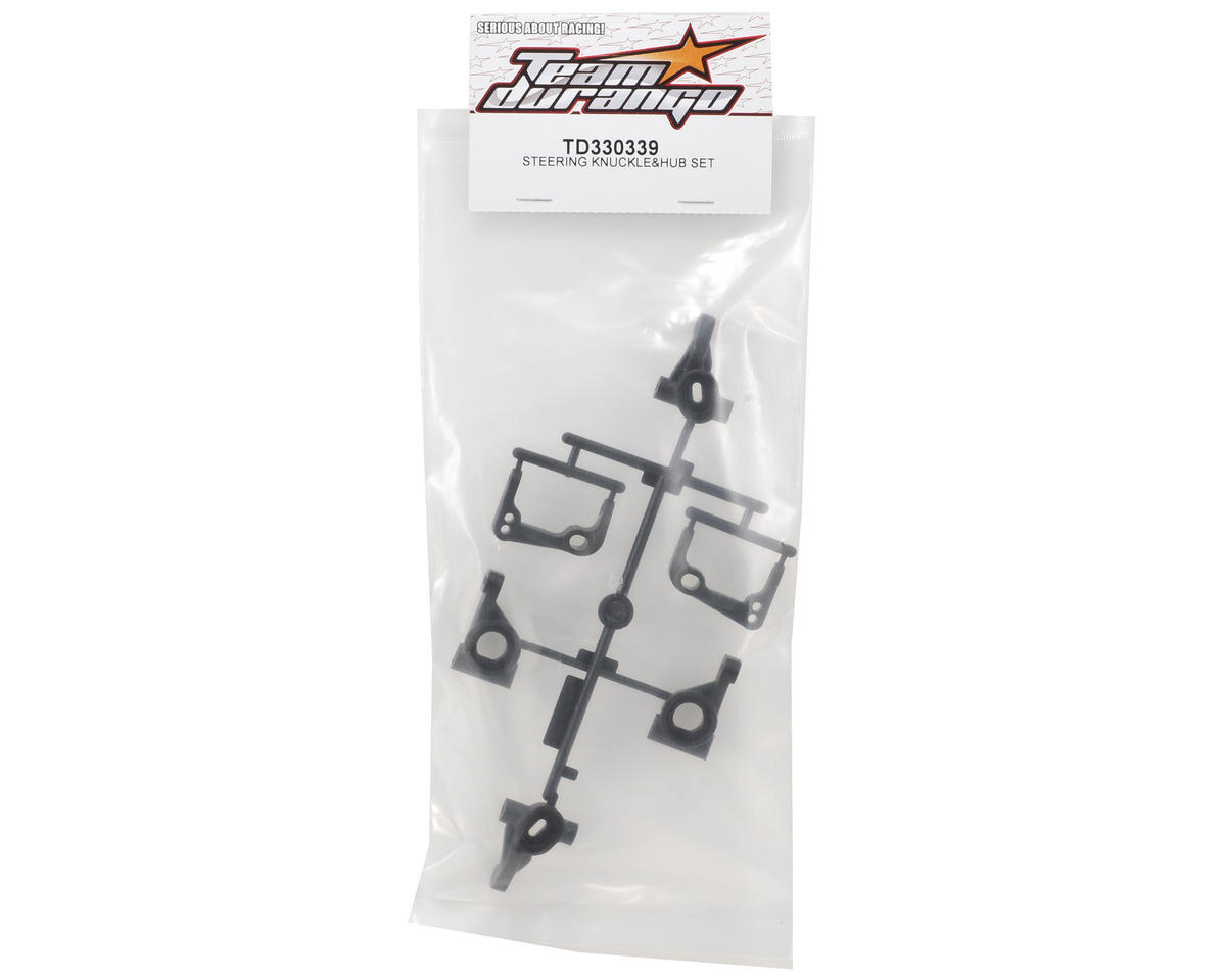 Team Durango Steering Knuckle & Hub Set