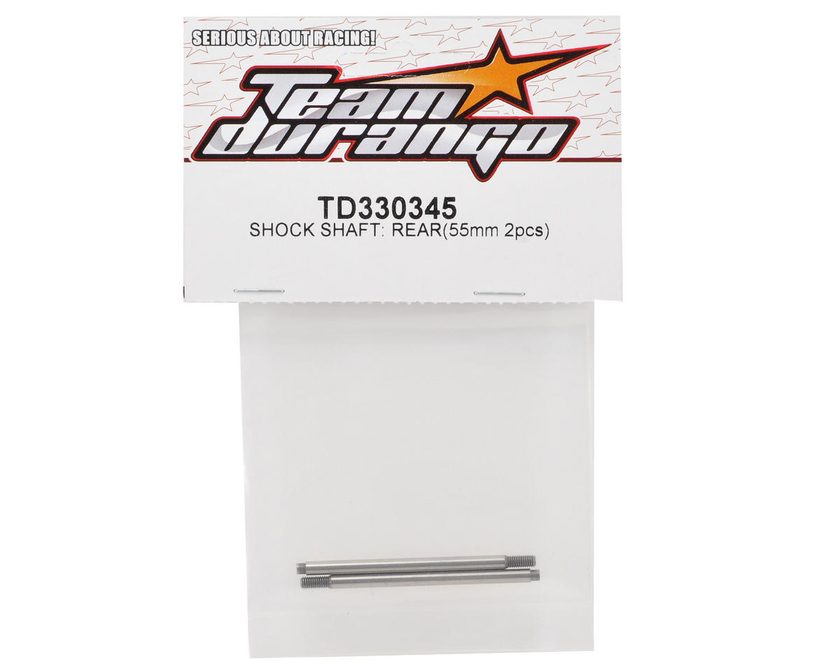Team Durango 55mm Rear Shock Shaft Set (2)