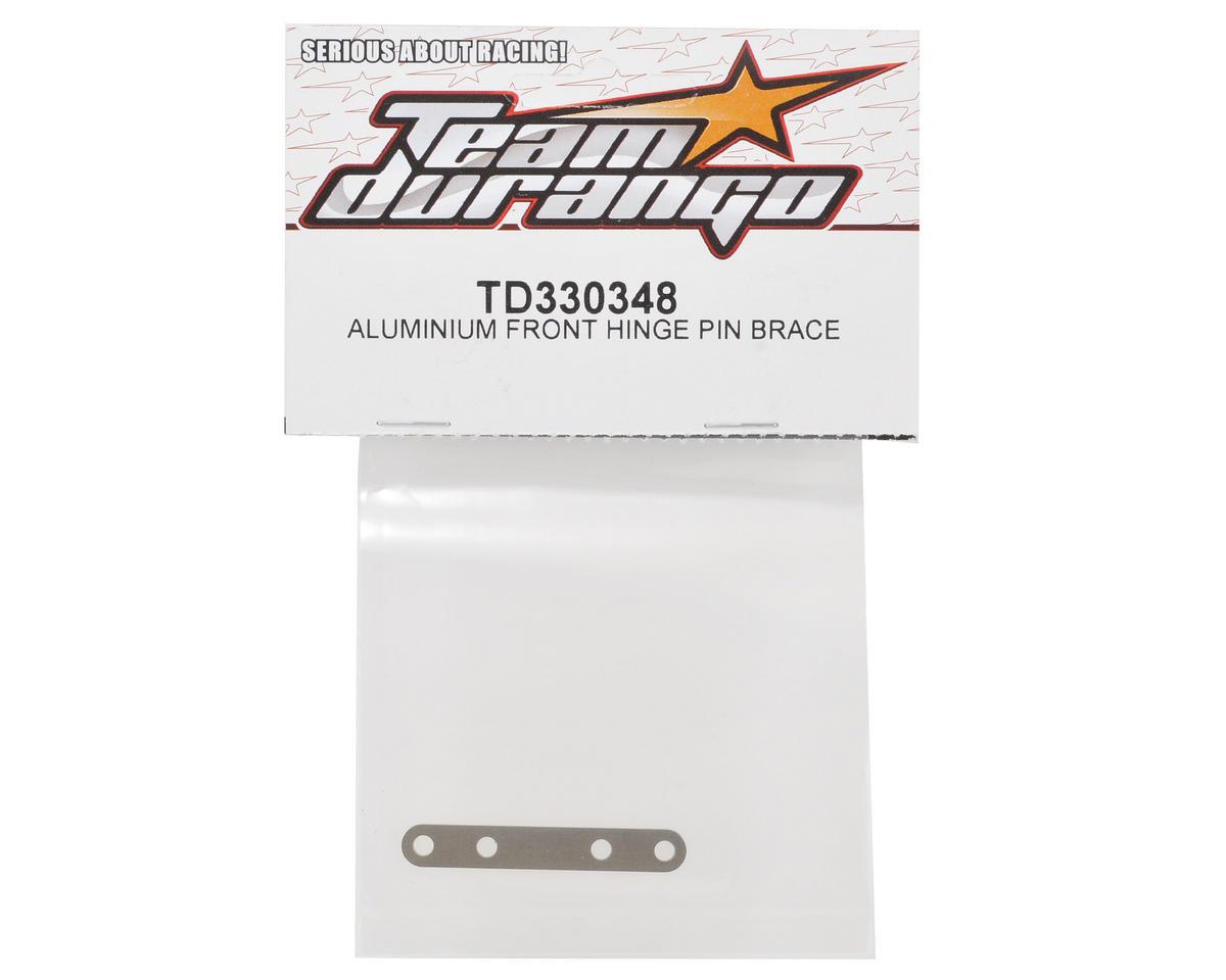 Team Durango Aluminum Front Hinge Pin Brace
