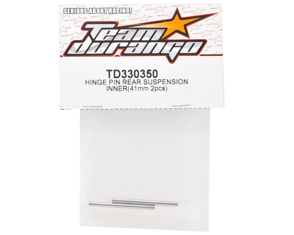 Team Durango 41mm Rear Inner Hinge Pin Set (2)