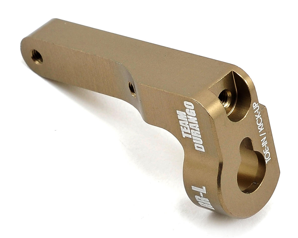 Team Durango Aluminum HD Suspension Mount (RR - Left)