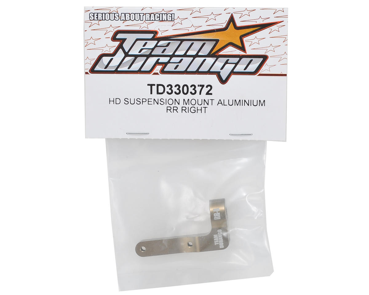 Team Durango Aluminum HD Suspension Mount (RR - Right)
