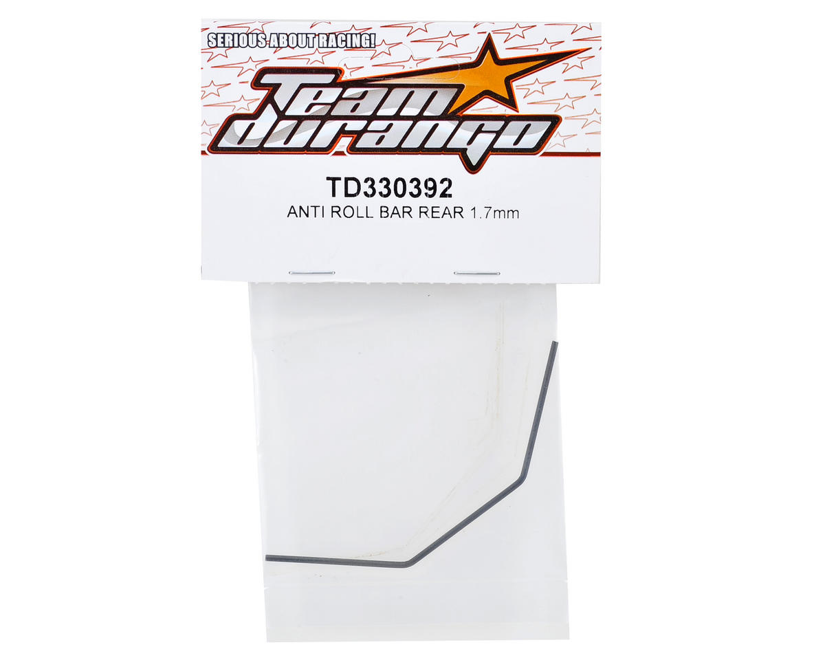 Team Durango 1.7mm Rear Anti Roll Bar