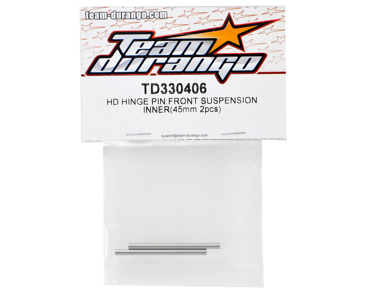 Team Durango 45mm Front Inner HD Hinge Pin (2)
