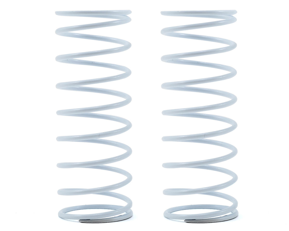 Team Durango Front Shock Spring Set (White/Grey) (76gf/mm) (2)