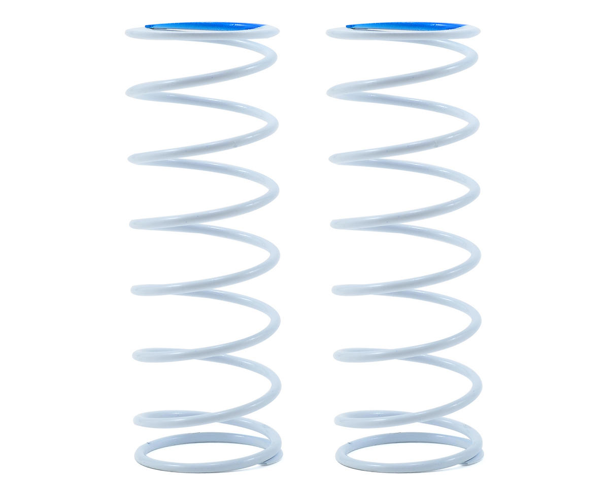 Team Durango Front Shock Spring Set (White/Blue) (87gf/mm) (2)