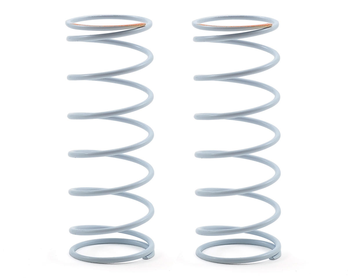 Team Durango Front Shock Spring Set (White/Orange) (95gf/mm)
