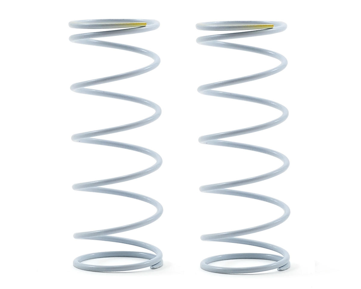 Team Durango Front Shock Spring Set (White/Yellow) (113gf/mm)