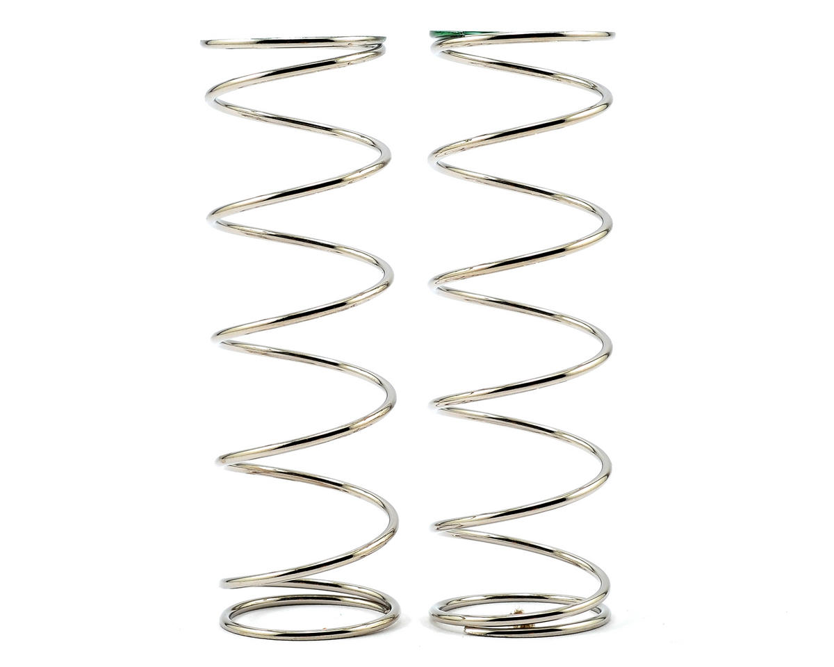 Team Durango Rear Shock Spring Set (Silver/Green) (88gf/mm) (2)