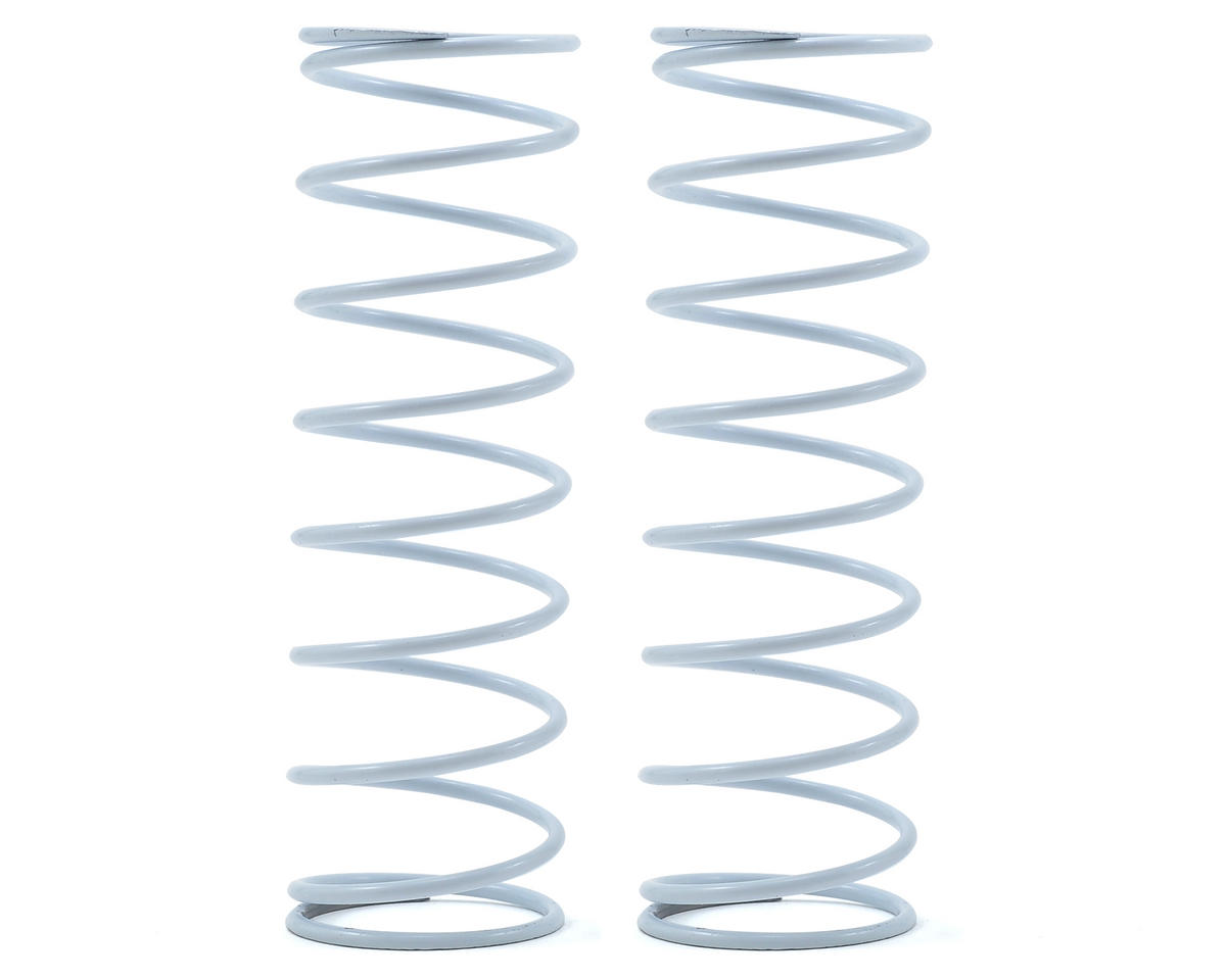 Team Durango Rear Shock Spring Set (White/Grey) (76gf/mm) (2)