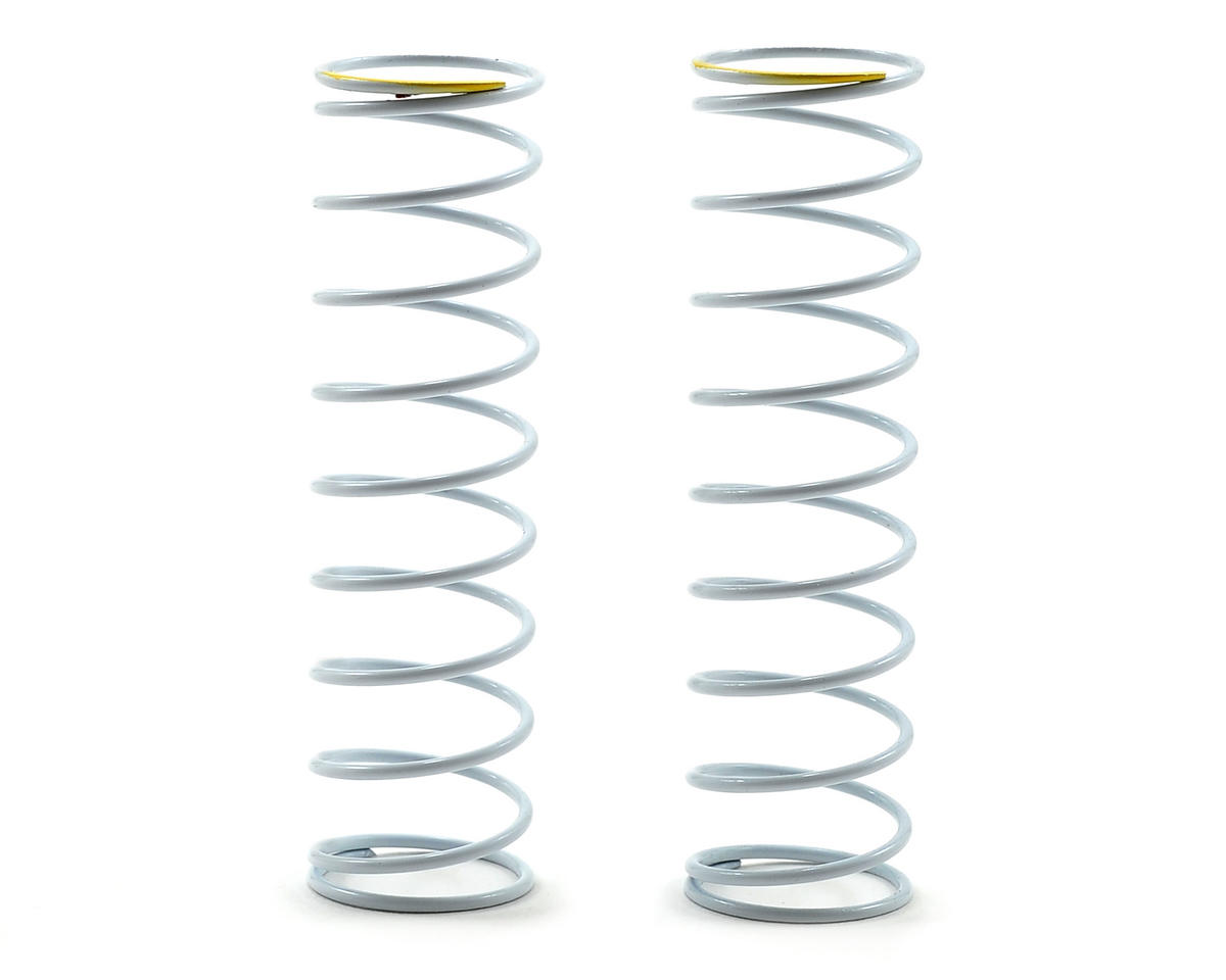 Team Durango White Series 65mm Rear Big Bore Shock Spring (52.45gf/mm) (2)