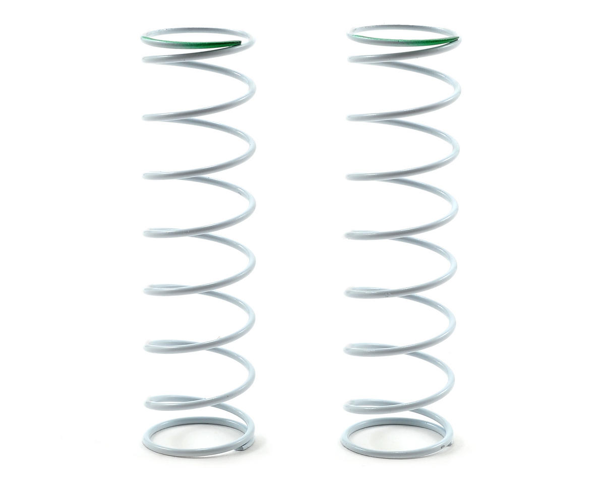 Team Durango White Series 65mm Rear Big Bore Shock Spring (63.68gf/mm) (2)
