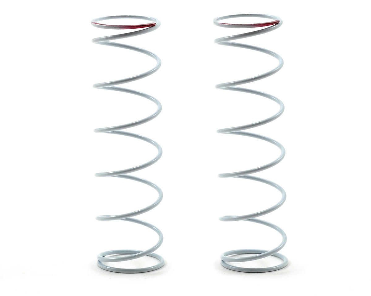 Team Durango White Series 65mm Rear Big Bore Shock Spring (81.05gf/mm) (2)