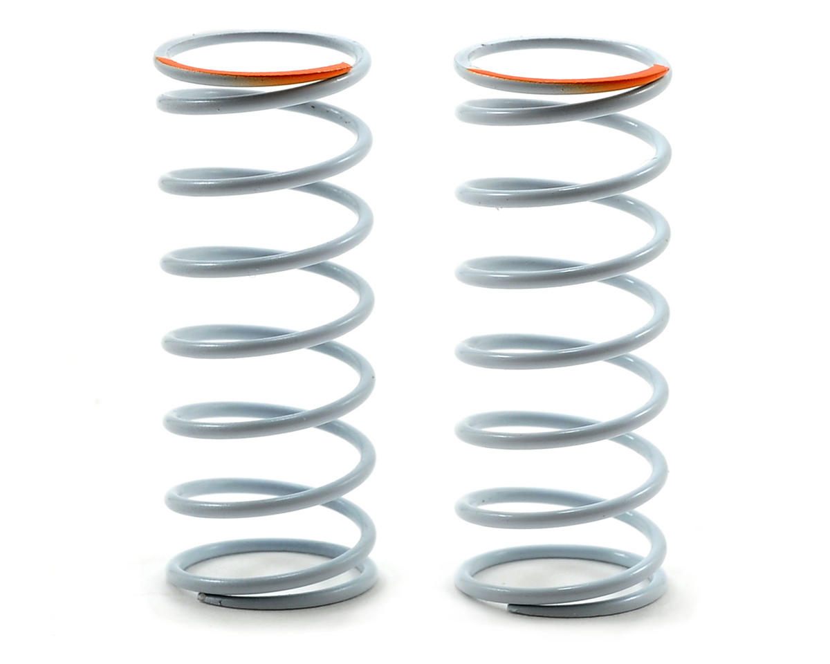 Team Durango DEX410 V3 White Series 45mm Front Big Bore Shock Spring (132.14gf/mm) (2)