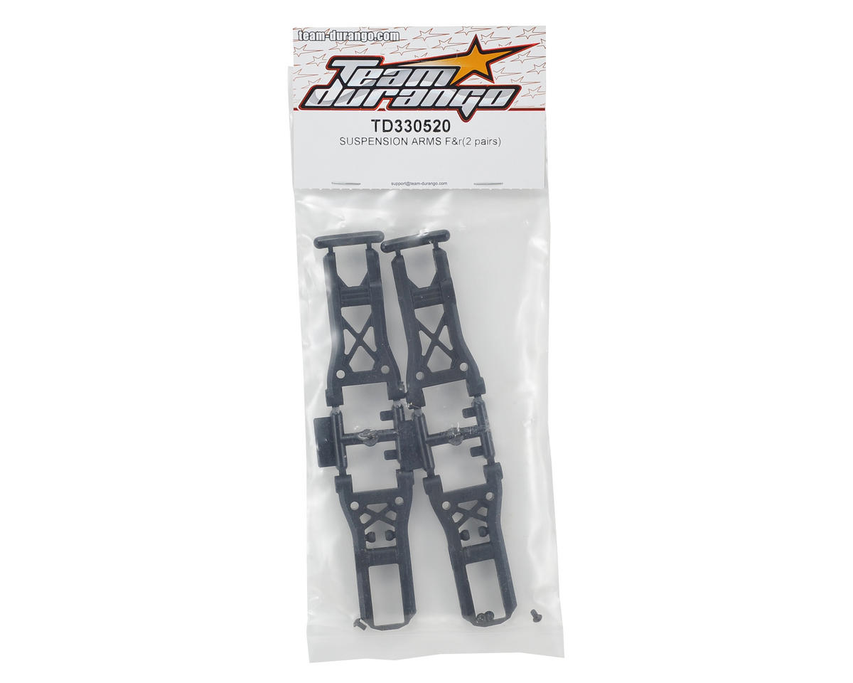 Team Durango Front/Rear Suspension Arms