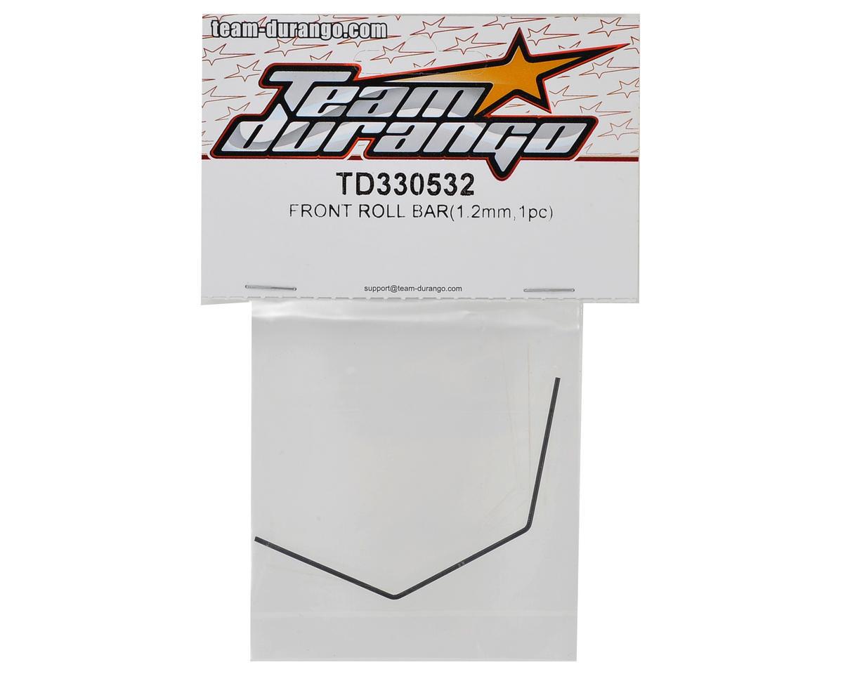 Team Durango 1.2mm Front Roll Bar