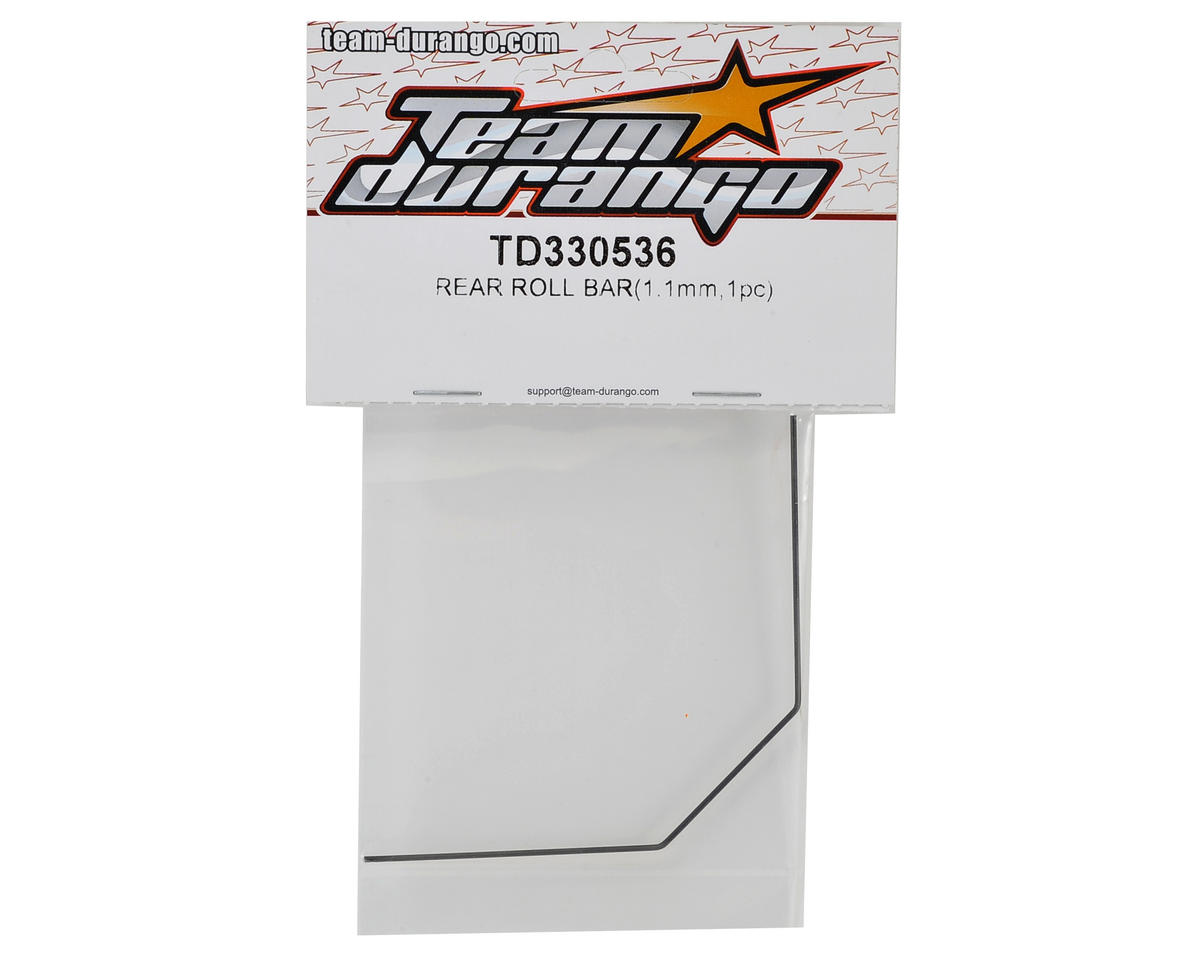 Team Durango 1.1mm Rear Roll Bar