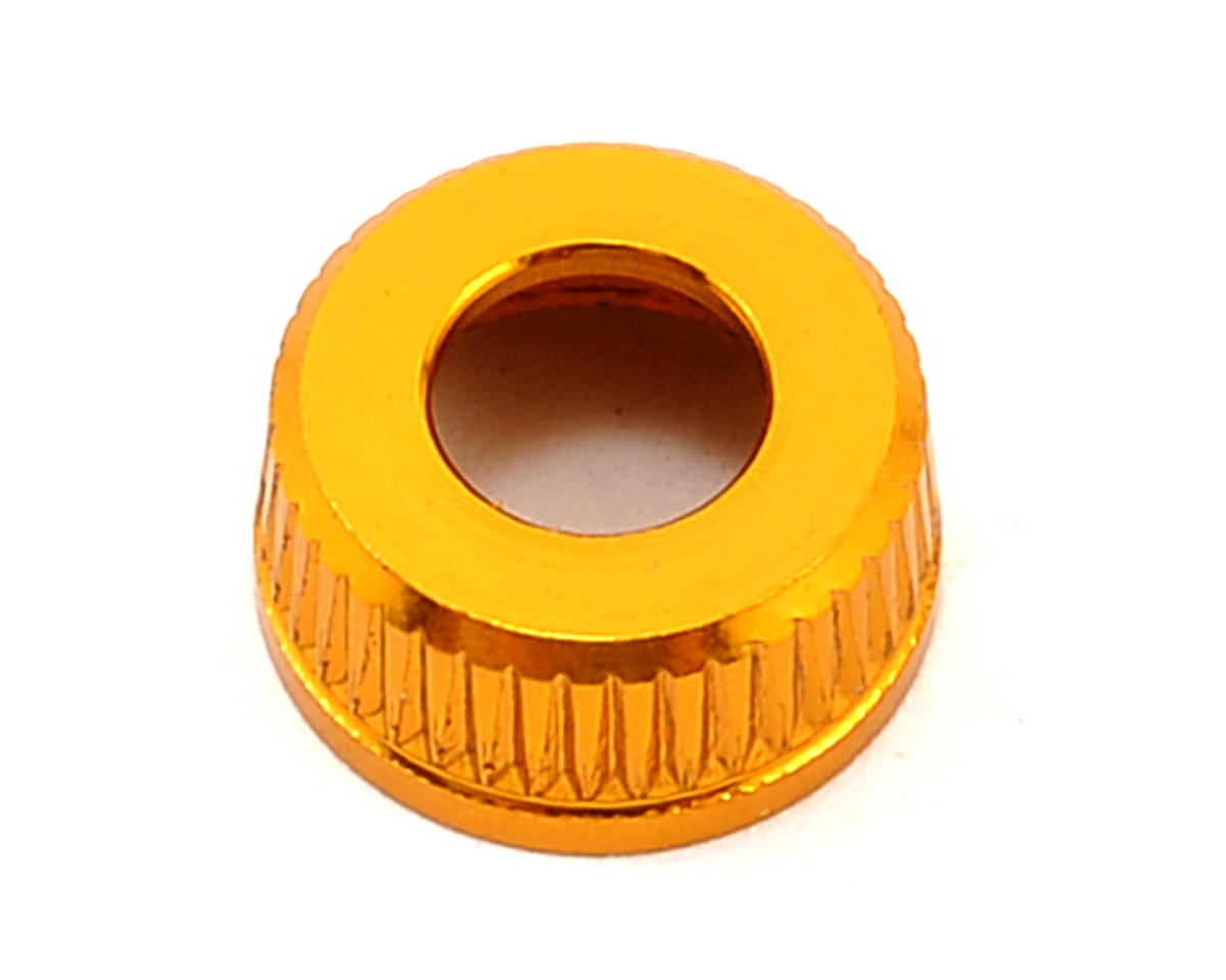 Team Durango Aluminum Shock Seal Cap (Gold)