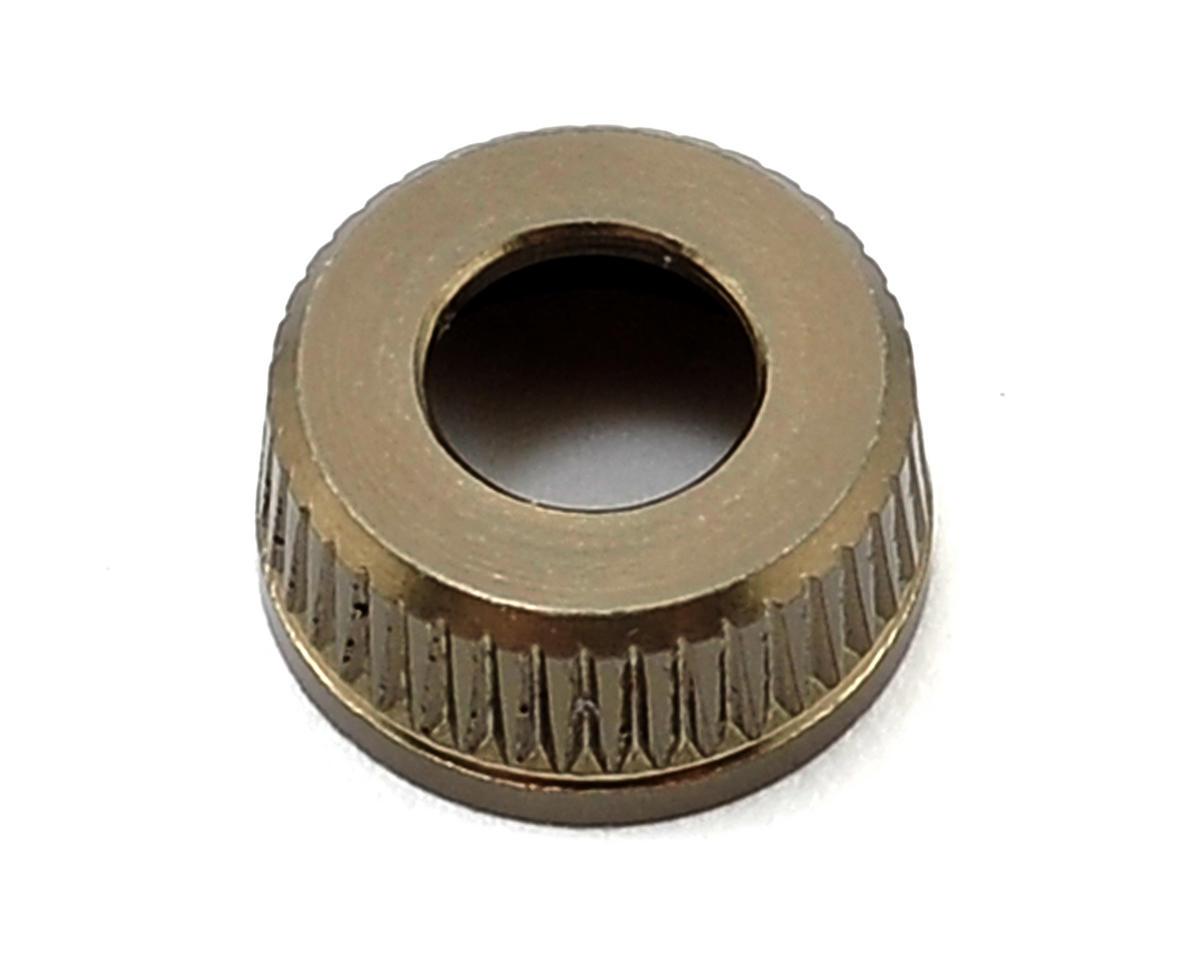 Team Durango Aluminum Shock Seal Cap (Olive)