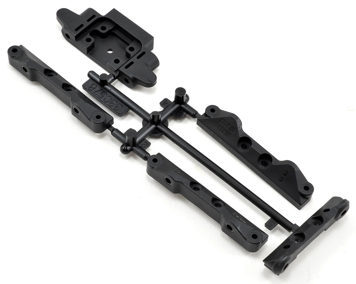 Team Durango Front Bulkhead & Suspension Mount Set (Type B)