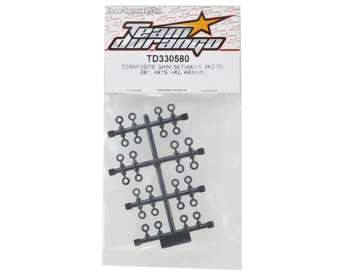 Team Durango Composite Shim Set (24)