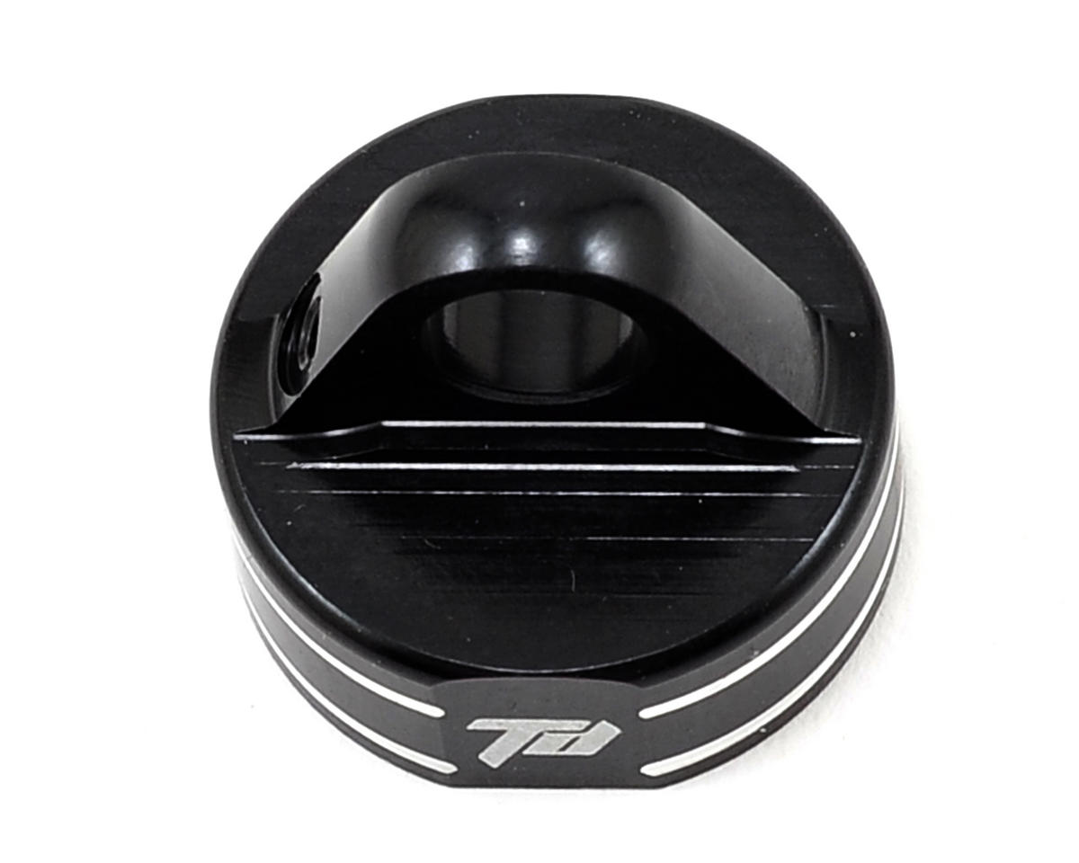 Team Durango DEX408 V2 16mm Aluminum Shock Cap (Black)