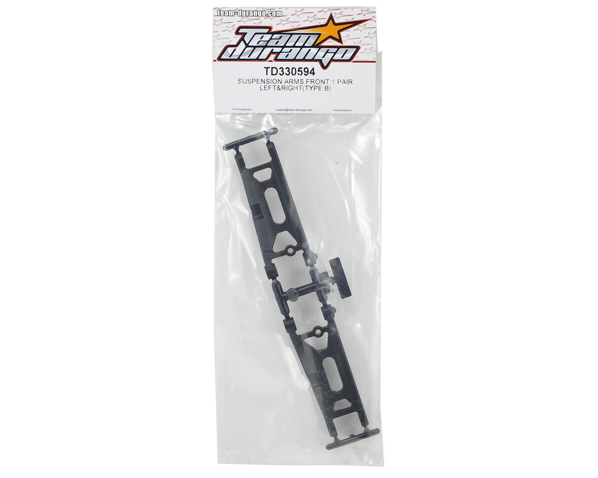 Team Durango HD Front Suspension Arm (2)