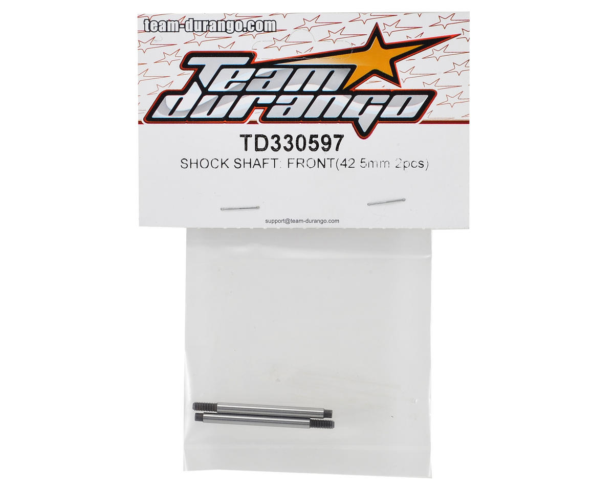 Team Durango 42.5mm Front Shock Shaft (2)