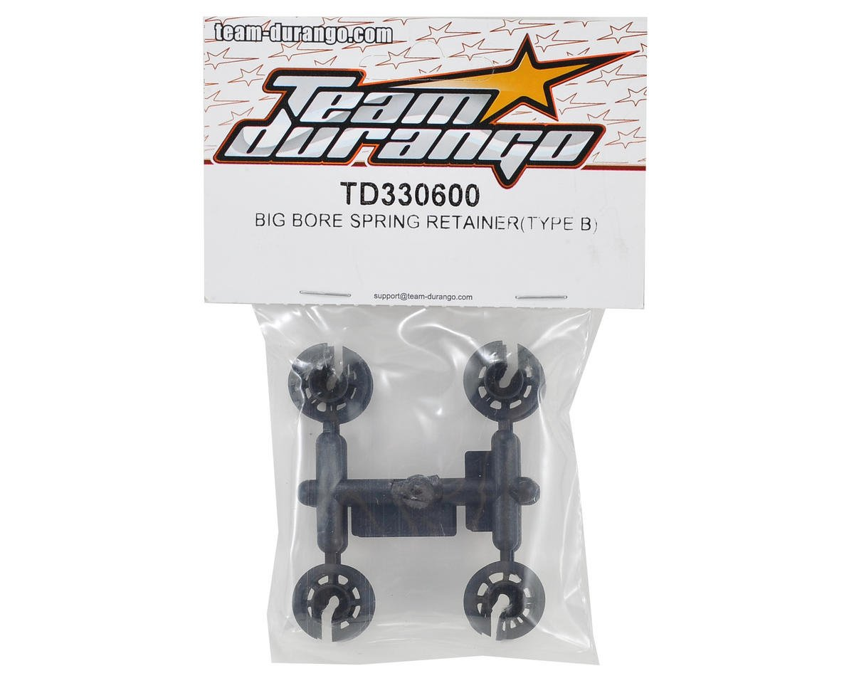 Team Durango Big Bore Spring Retainer (Type B)