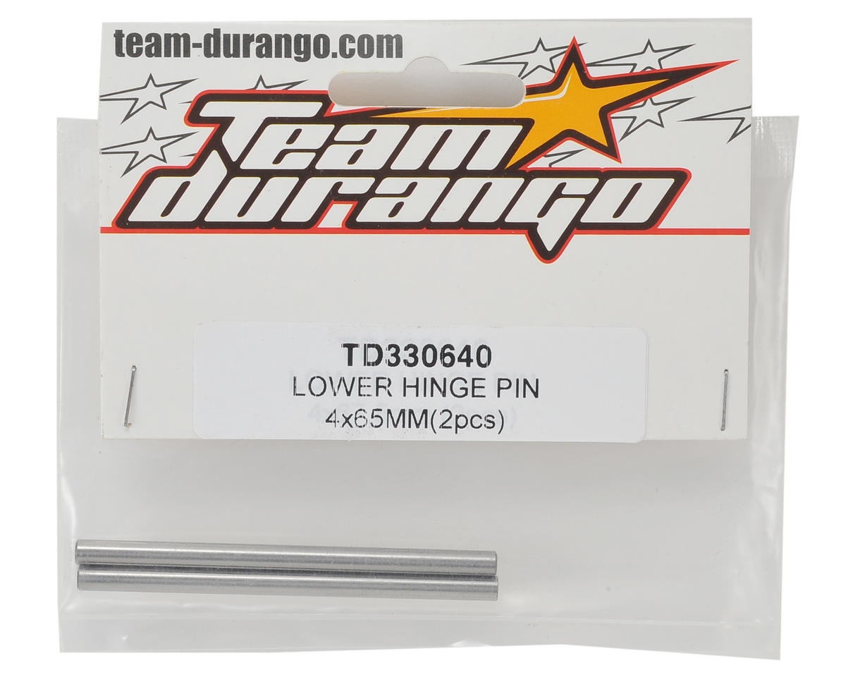 Team Durango 4x65mm Lower Hinge Pin (2)