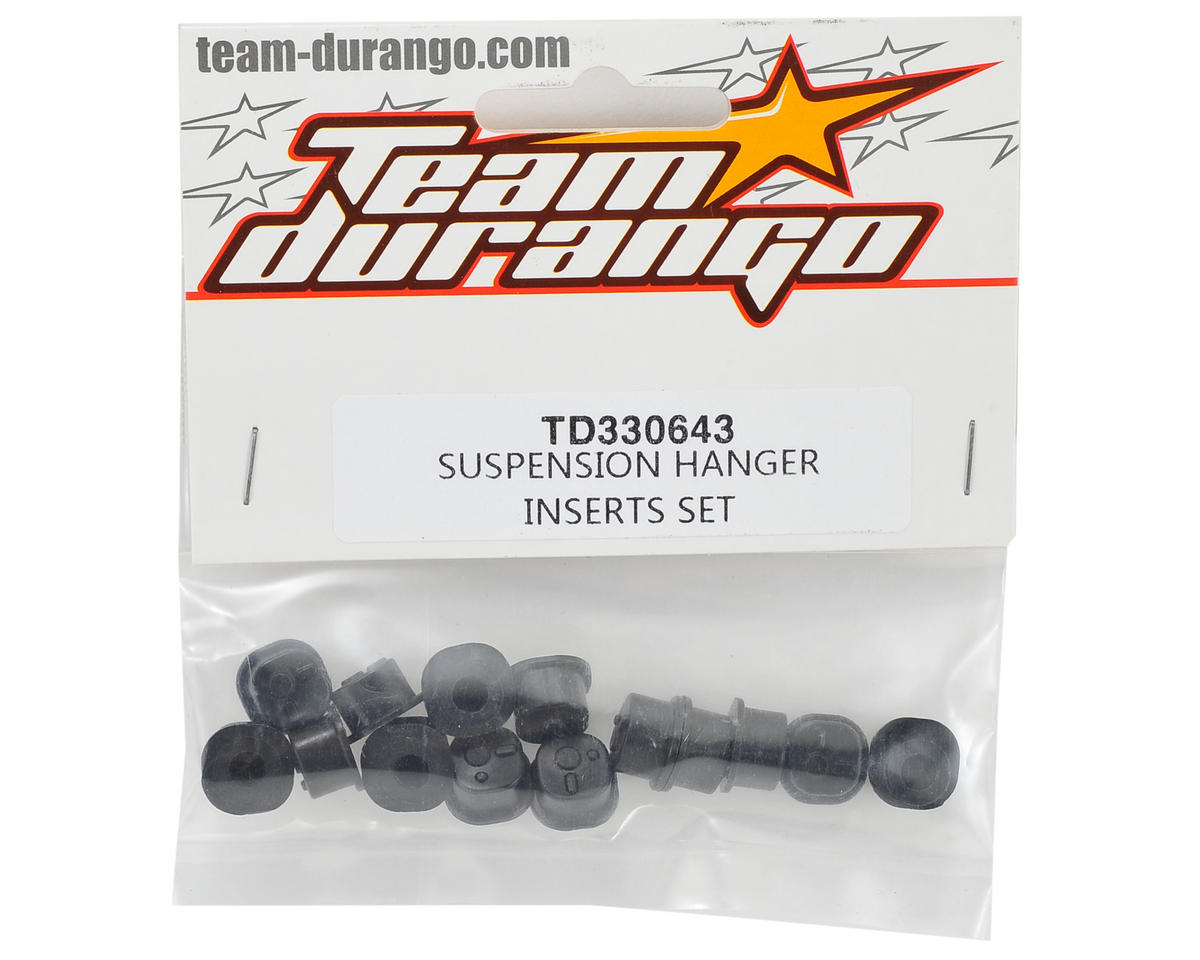 Team Durango Suspension Hanger Insert Set
