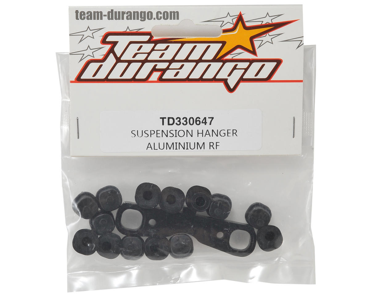 Team Durango Aluminum Rear/Front Suspension Hanger