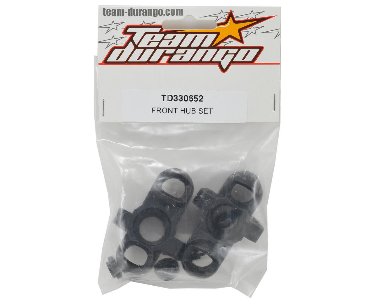 Team Durango Front Hub Set