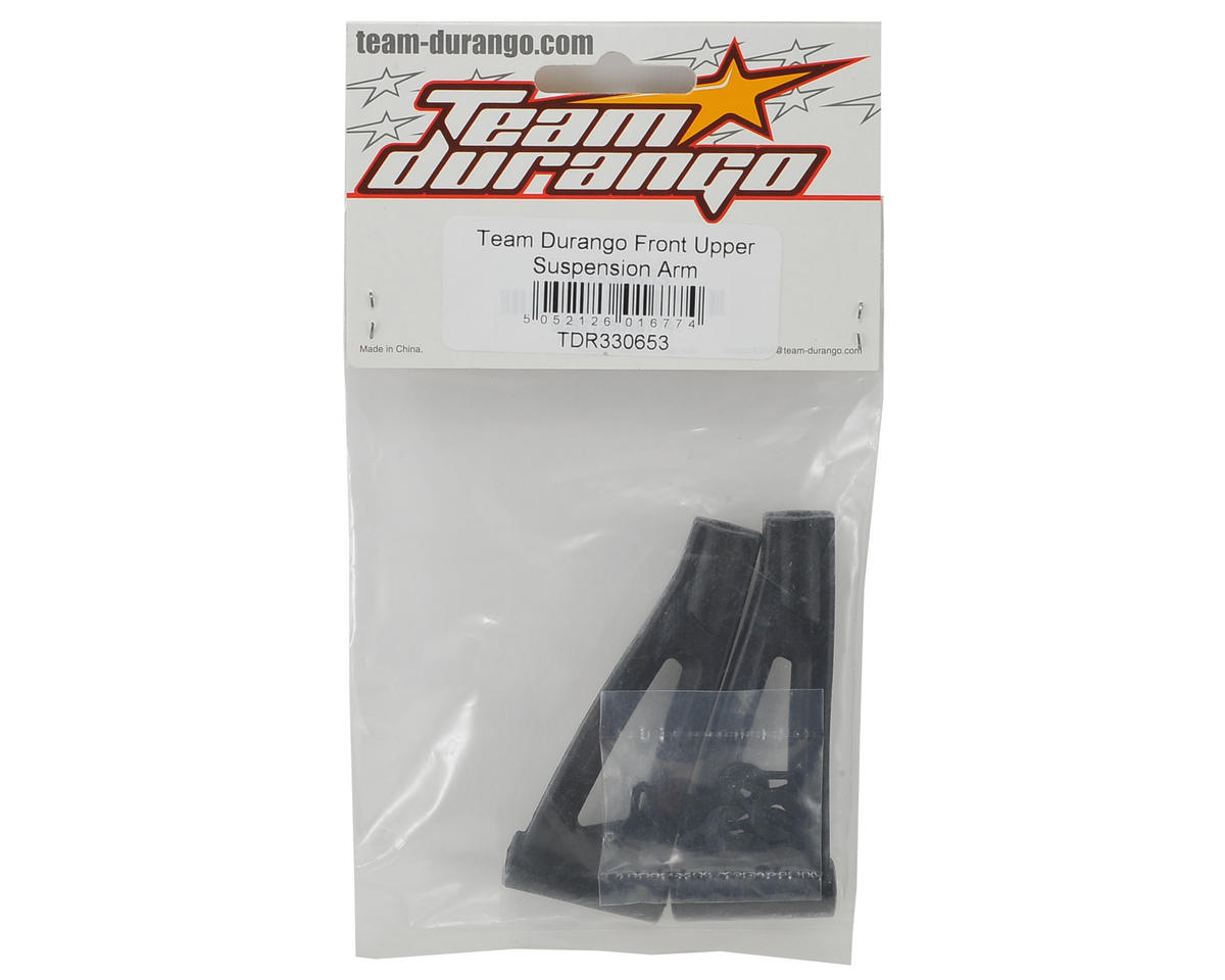 Team Durango Front Upper Suspension Arm Set