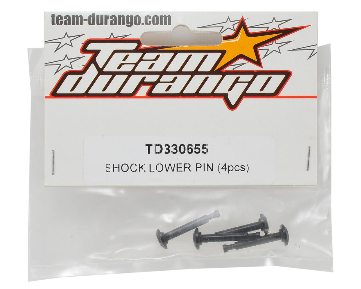 Team Durango Lower Shock Pin (4)