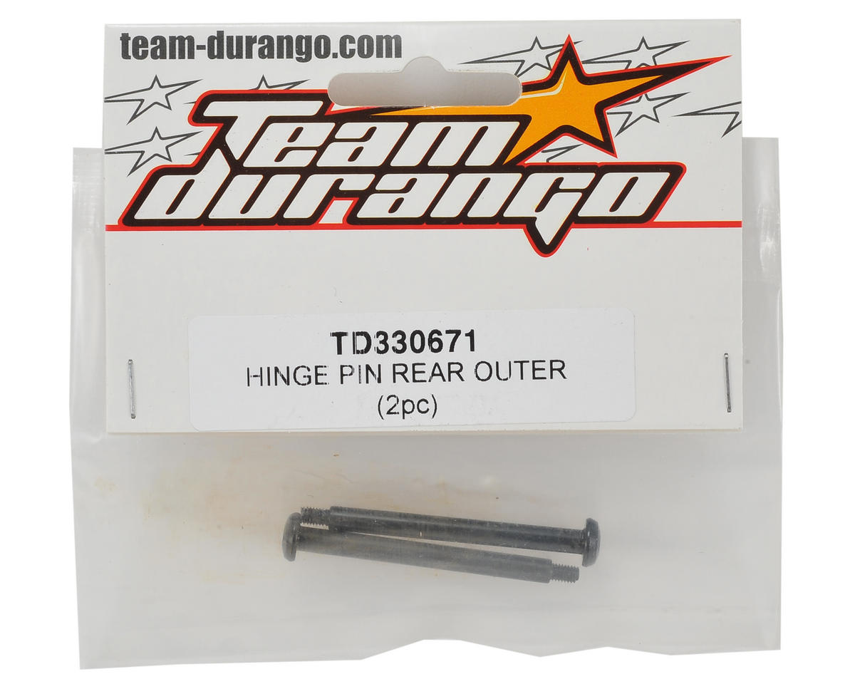 Team Durango Rear Outer Hinge Pin (2)