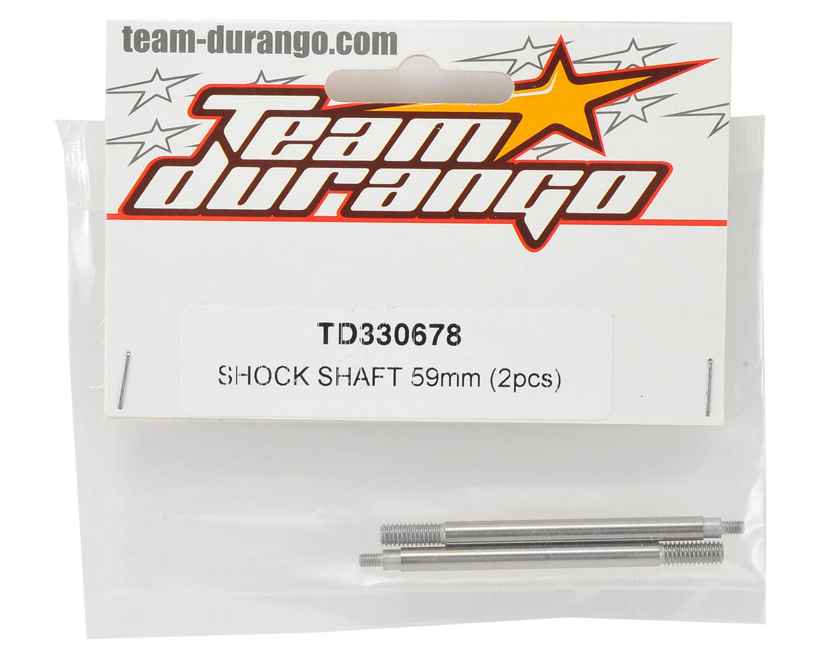 Team Durango 59mm Front Shock Shaft (2)