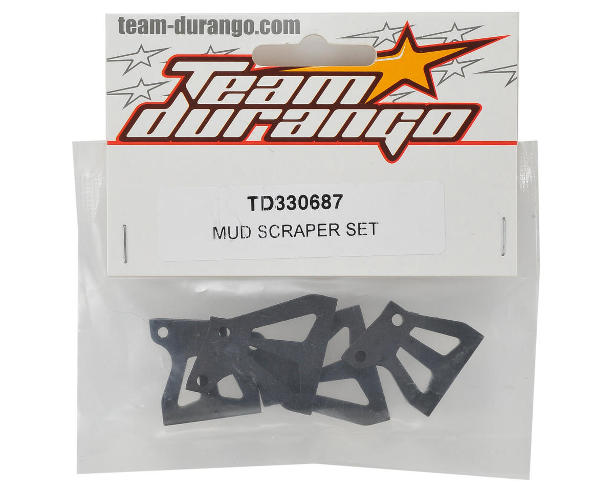 Team Durango Mud Scraper Set